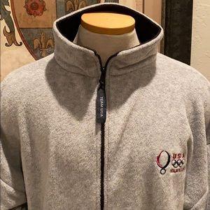 USA Olympic team  Beijing 2008 fleece jacket
